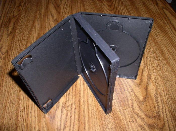 500 TRIPLE DVD CASE, BLACK, NO LOGO - PSD52