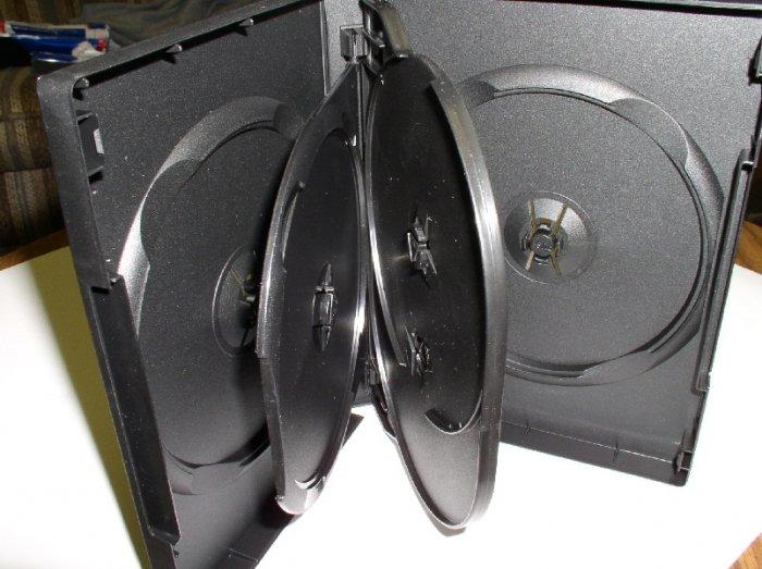 25 MULTI (5) DVD CASES - PSD80