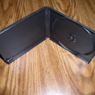 1000 SINGLE POLY CD/DVD CASE, BLACK W/SLEEVE - PSC11
