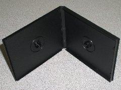 100 DOUBLE POLY CD CASE W/SLEEVE - PSC30