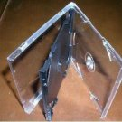 1000 SLIM TRIPLE CD JEWEL CASES W/ BLACK TRAY - SLIM3CD