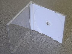 1000 NEW SINGLE JEWEL CASES W/ WHITE TRAY - SH001