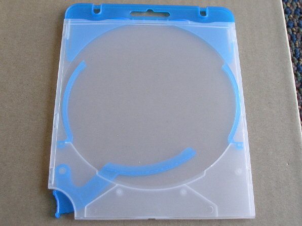 100 TRIGGER EJECTOR CD CASES, BLUE - TRIGBLU