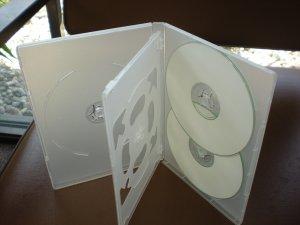 DH5  50 CLEAR SLIM MULTI-5 DVD CASE