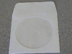 1000 TYVEK CD SLEEVES W/WINDOW & FLAP - JS88
