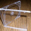 200 NEW SINGLE JEWEL CASES W/ CLEAR TRAY - KC04PK