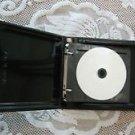 20, TWENTY COUNT  CD DVD Binder Album Holder Case Black 90149SL
