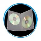 100 7mm Slim Double Clear DVD Cases D7DDC