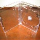 100 NEW SUPER DVD CASE, SUPER JEWEL BOX KING CLEAR,SF11