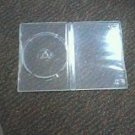 100 NEW AMARAY CLEAR SINGLE DVD / CD CASES