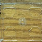 200 DOUBLE CD SMART TRAYS CLEAR- 2CDSMTRAYCLR