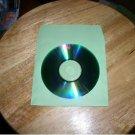 2000  GREEN CD PAPER SLEEVES w/ WINDOW & FLAP -  PSP60