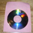 2000  PINK CD PAPER SLEEVES w/ WINDOW & FLAP -  PSP50