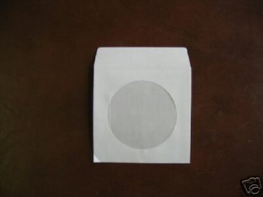 "2000 3"" WHITE MINI CD-R PAPER SLEEVE ENVELOPE JS206"