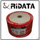 200 RIDATA CD-R WHITE INKJET PRINTABLE, 52X
