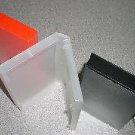 100 STANDARD VHS CASES - WHITE - PSV12 NO HUB