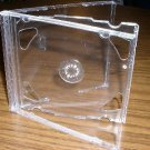 1000 NEW DOUBLE CD JEWEL CASES W/ CLEAR TRAY - PSC36