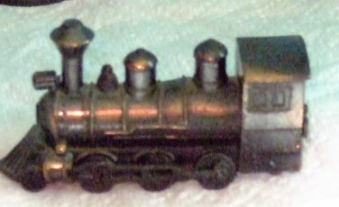Vintage Die-Cast Miniature Train Engine Pencil Sharpener