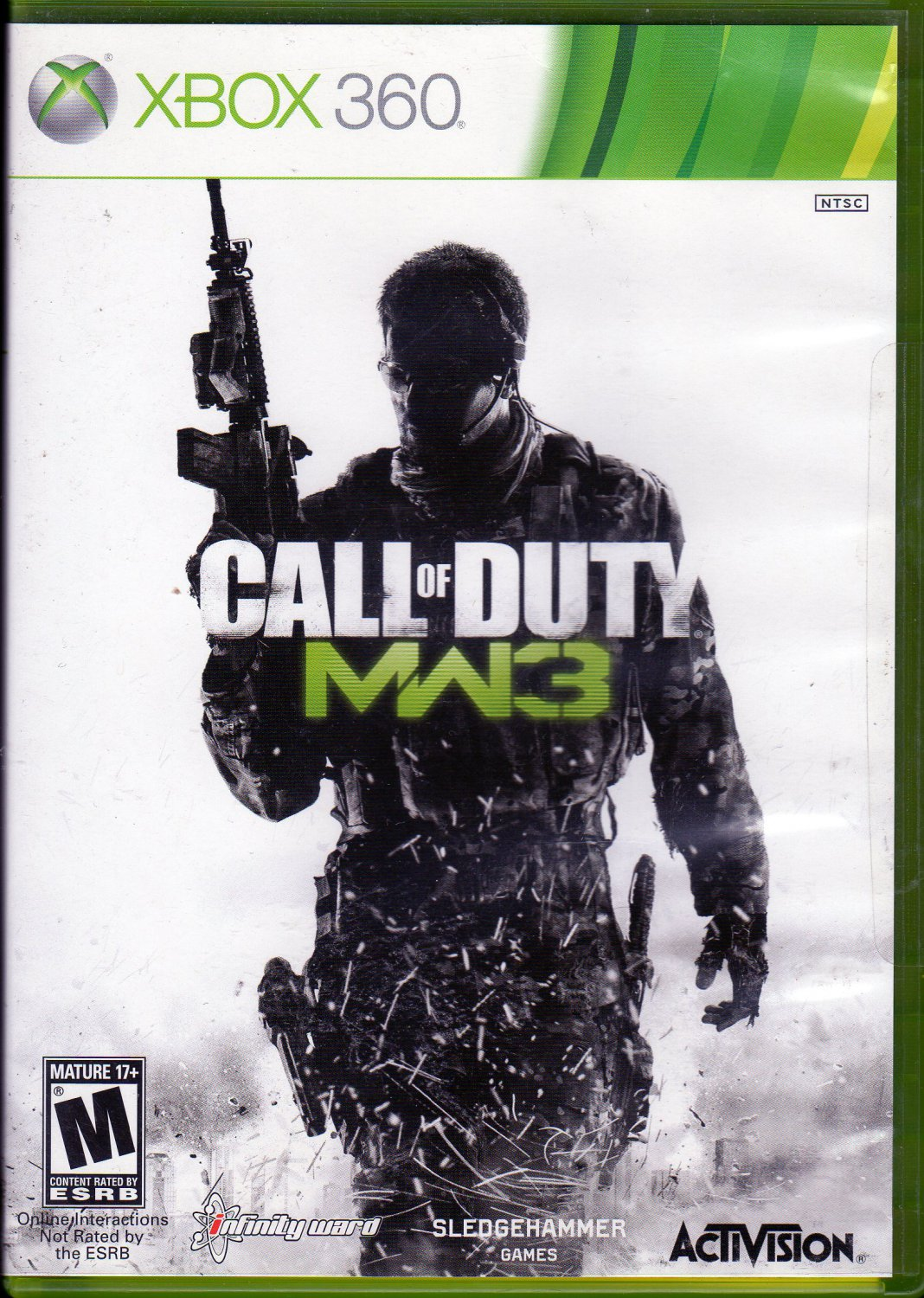 Call Of Duty MW3 X box 360 game
