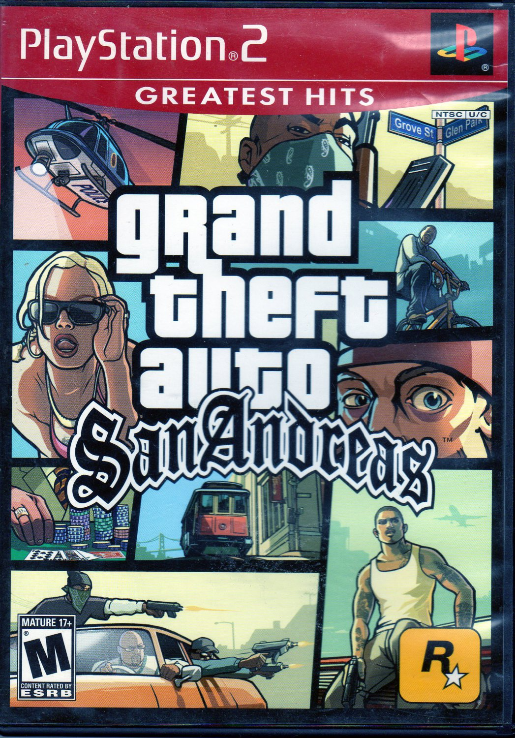 Grand Theft Auto San Andreas Greatest Hits  PlayStation2