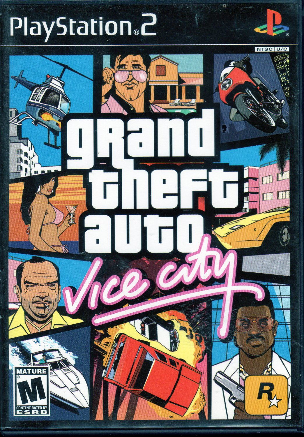 Grand Theft Auto: Vice City (Sony PS2)