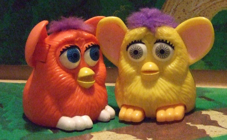 McDonalds Furbys 1998