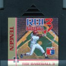 Nintendo NES Tengen RBI Baseball 3 Video Game Cartridge