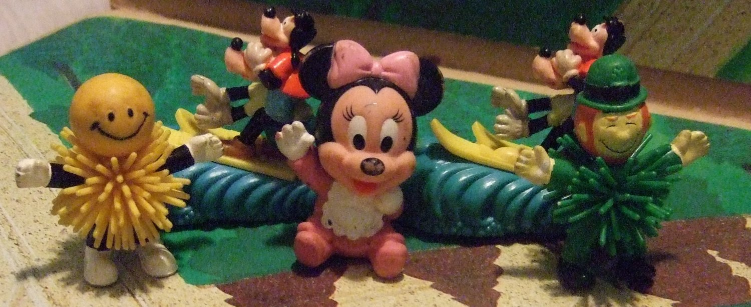 Mix Lot Of Disney & Other Toys