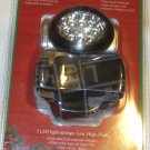 10-LED Headlamp, Silver