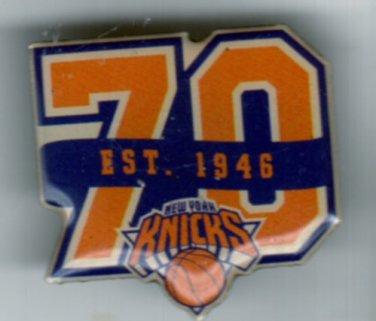 NBA - New York Knicks 70th Anniversary Pin