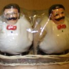 Italian Waiters Salt & Pepper Shakers