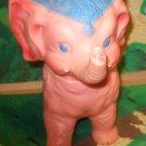 Vintage Sun Rubber Pink Elephant