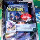 Wolverine Die Cast Vehicle and Comic Book 2002 Marvel