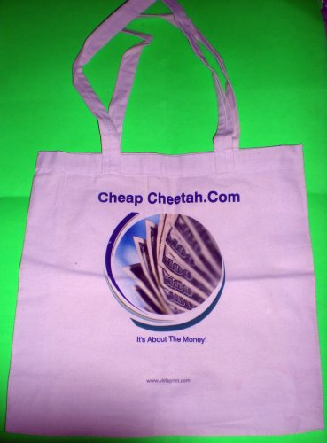 Cheap Cheetah About The Money Tote Bag