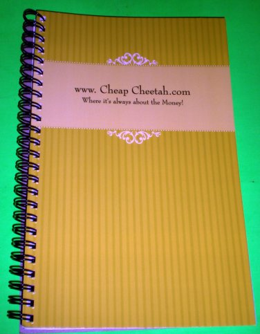 Cheap Cheetah Note Book