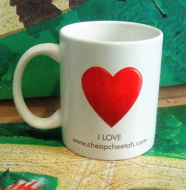 Cheap Cheetah Coffee Cup