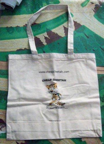 Cheap Cheetah's Cloth Tote Bag