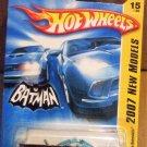 HOT WHEELS BATMAN BATMOBILE 1966 TV SERIES NEW MODELS 2007 TOY CAR