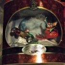 Holiday Hot Wheels Santa's New Toy Snow Christmas Santa Claus 2001 Sealed Box