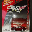 Corvette 50th Anniversary R2 2003 Corvette White Lightning Johnny Lightning