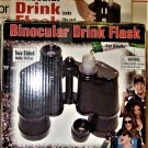 Binocular Drink Flask Two Sided Holds 16 oz Hidden Secret Liquor