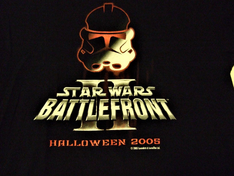 Star Wars II BattleFront Men's  T shirt