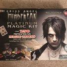 Criss Angel Mindfreak Platinum Magic Kit Assorted Lot of Tricks Includes DVD