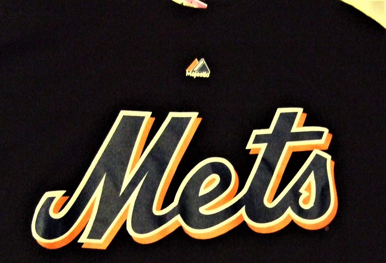 Mets Murphy 28 Black T Shirt