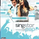 Playstation 2 SingStar Pop