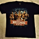 Road to Wrestlemania XXVI WWE Cena Bautista Undertaker Blue Tshirt Boys
