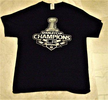 2012 Stanley Cup Champions LA Adult T Shirt
