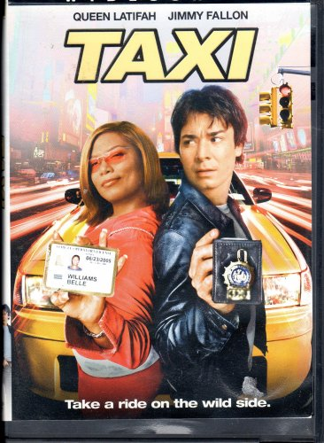 Taxi Movie With Queen Latifh & Jimmy Fallon