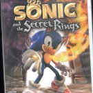 Sonic And The Secret Rings WII Game ( No Manuel)