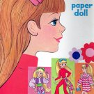 DOLLIKIN paper dolls 1971 cut/Mod-Era/Fashion Doll